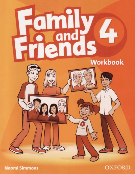 Купить family and friends 2nd edition 4: workbook.
